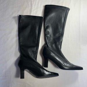 Salvatore Ferragamo Leather Boots (New)